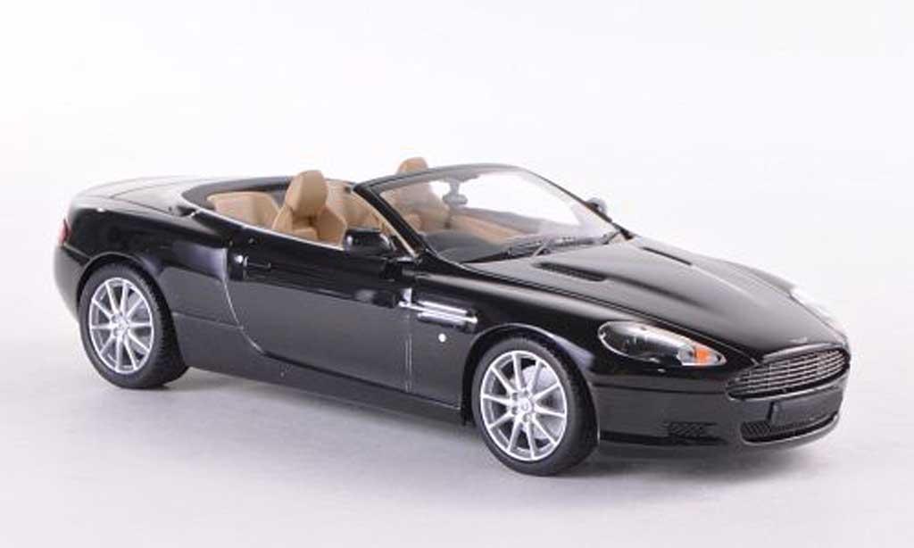 Aston Martin DB9 Volante 1/43 Minichamps noire  2009 miniature