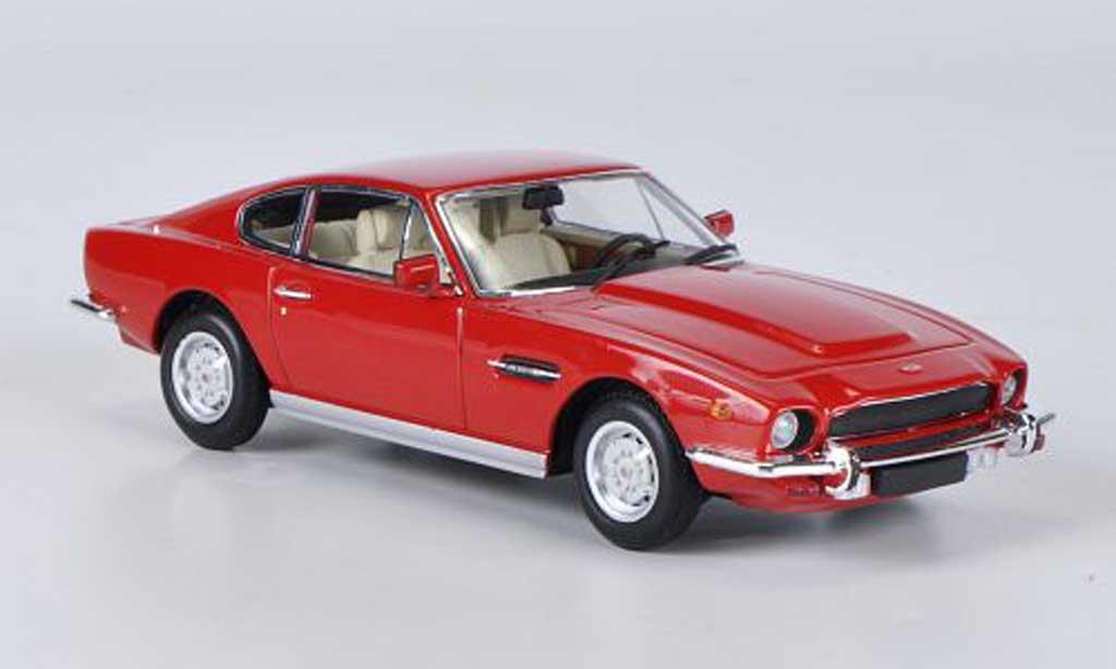 Aston Martin V8 1/43 Minichamps red 1987 diecast