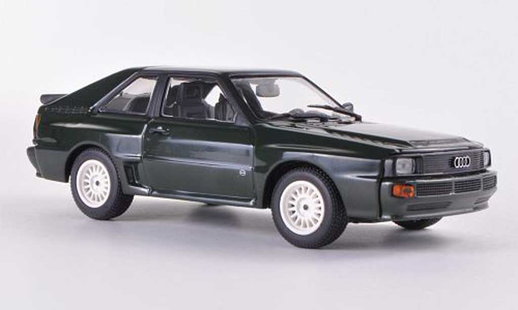 Audi Sport Quattro 1/43 Minichamps grun 1984 miniature