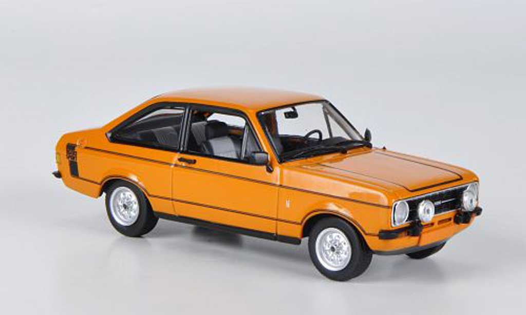 Ford Escort RS 1600 1/43 Minichamps Sport orange 1975 miniature
