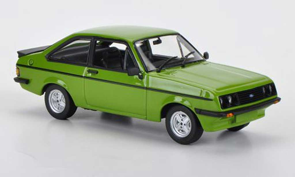 Ford Escort RS 2000 1/43 Minichamps RS 2000 grun 1976 diecast model cars