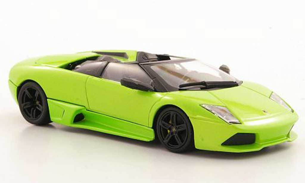 Lamborghini Murcielago LP640 1/43 Minichamps LP640 Roadster green 2007 diecast
