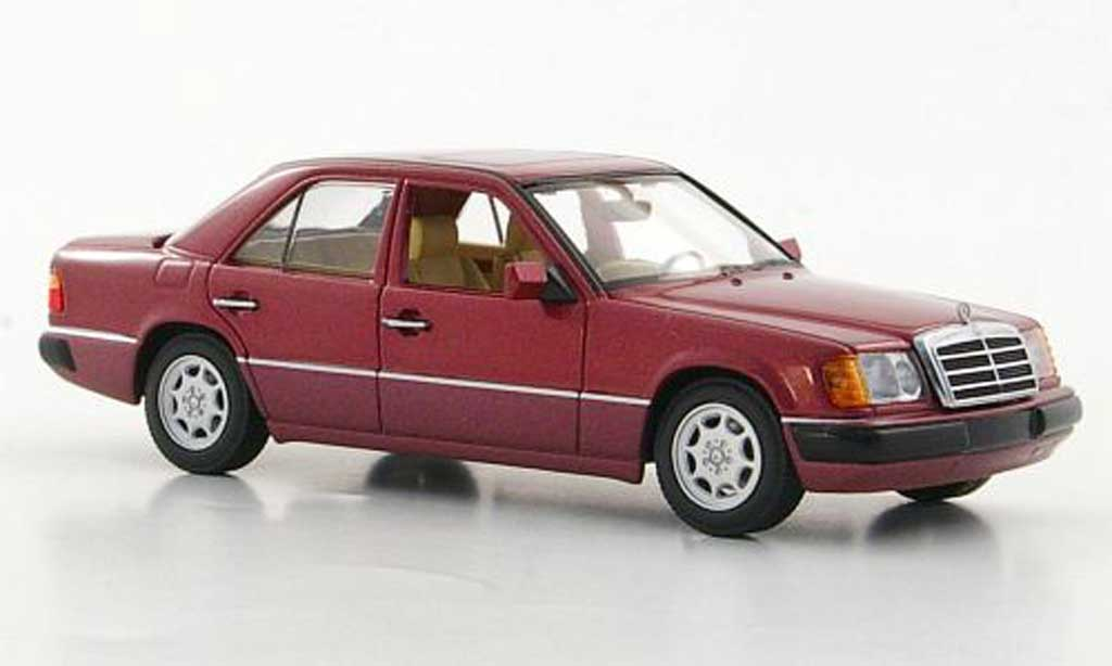 Mercedes 230 E 1/43 Minichamps E (W124) rouge 1991 miniature