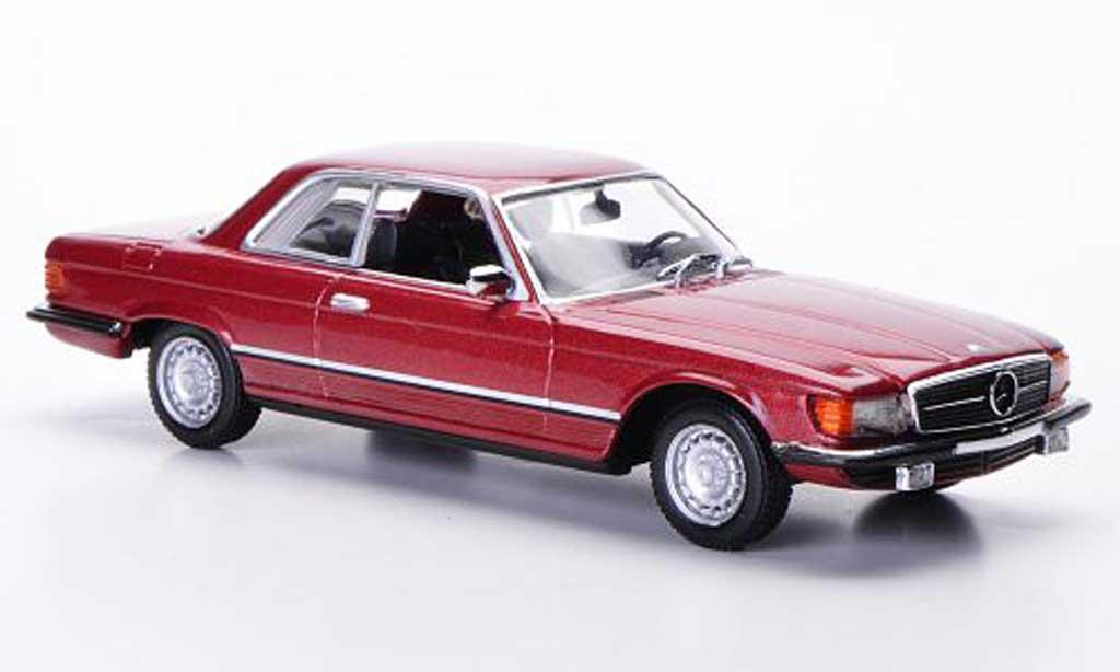 Mercedes 450 SLC 1/43 Minichamps (C107) rouge 1974