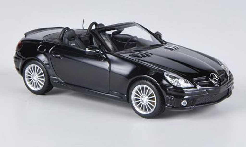 Mercedes Classe SLK 1/43 Minichamps 55 AMG (R171) noire 2008 miniature