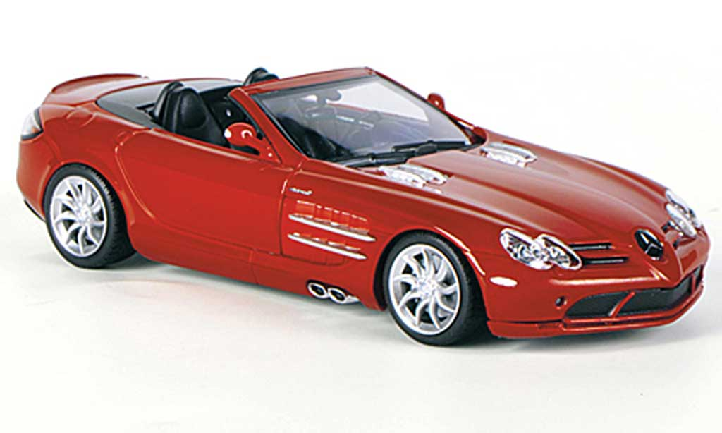 Mercedes SLR 1/43 Minichamps McLaren Roadster rouge 2007 miniature