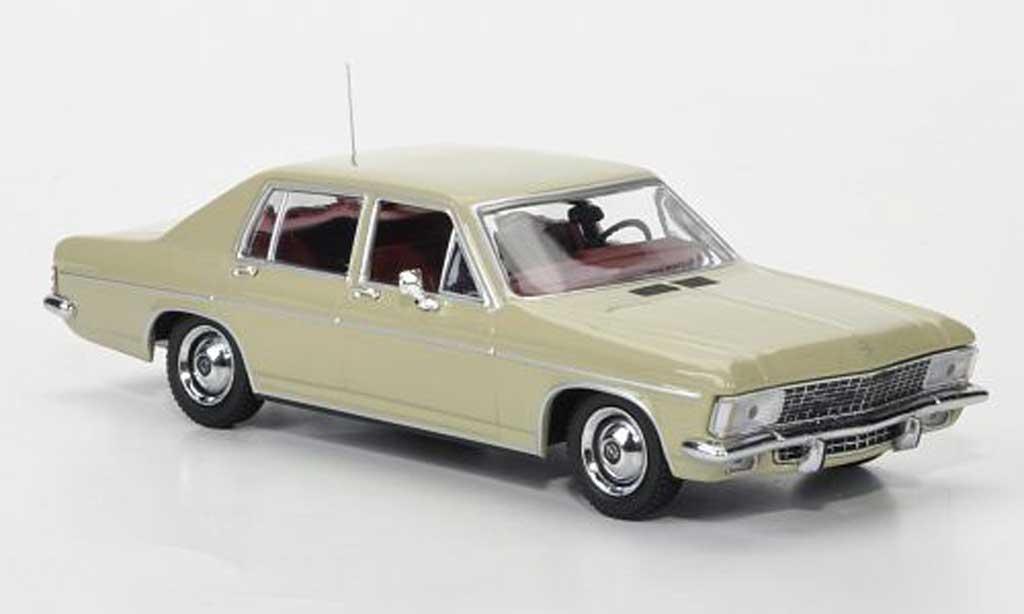 Opel Admiral 1/43 Minichamps beige 1969 miniature