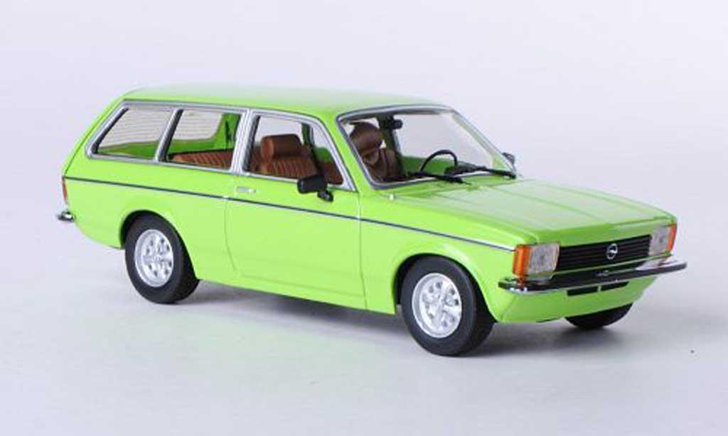 Opel Kadett C 1/43 Minichamps Caravan verte 1978 miniature