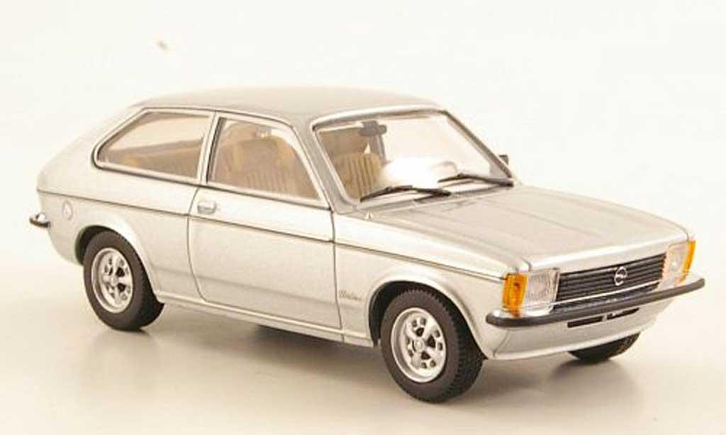 Opel Kadett C 1/43 Minichamps City gris 1978 miniatura