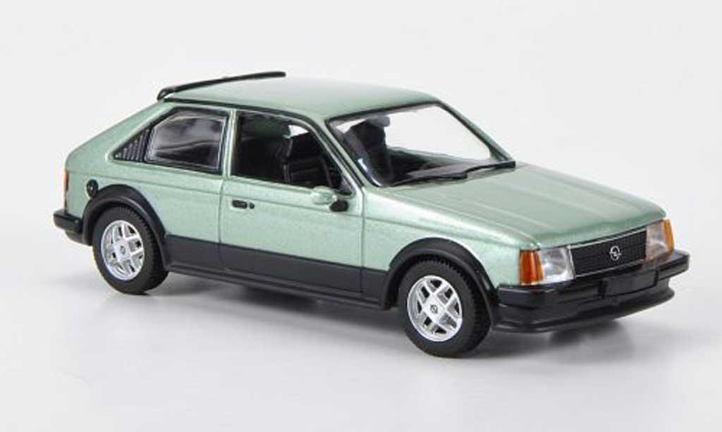 Opel Kadett D 1/43 Minichamps SR green 1979 diecast