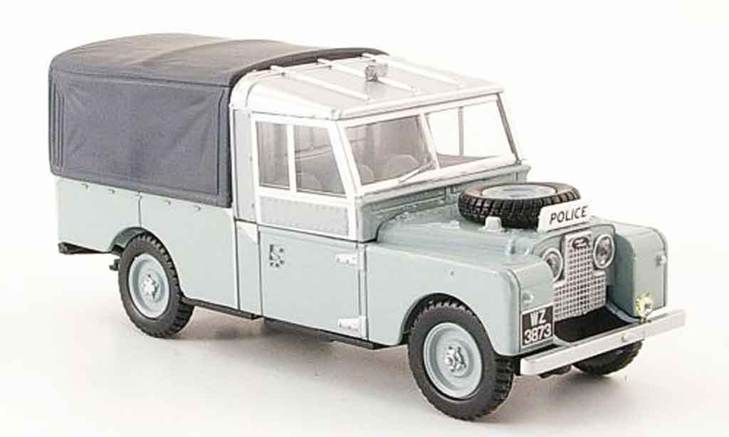 Land Rover 109 1/43 Oxford Pritsche Plane Royal Ulster Constabulary miniature
