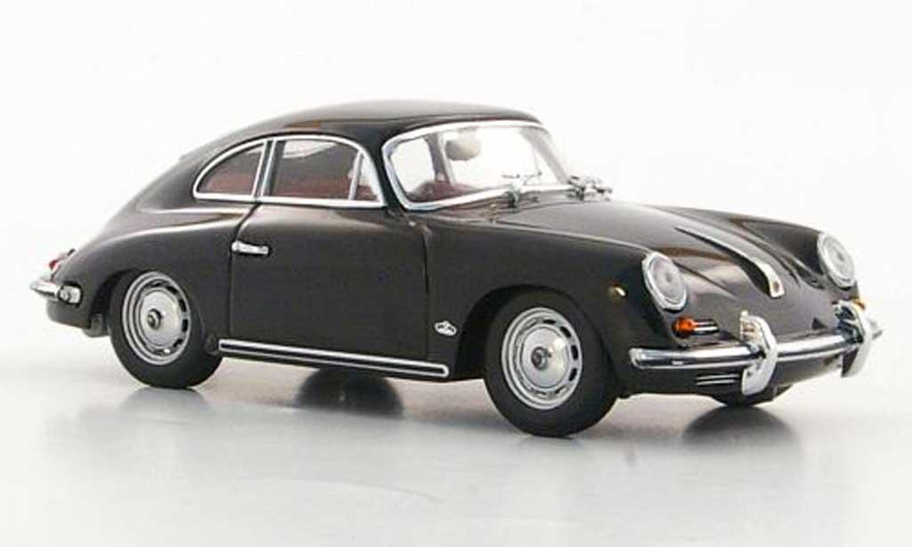Porsche 356 1961 1/43 Minichamps B noire miniature