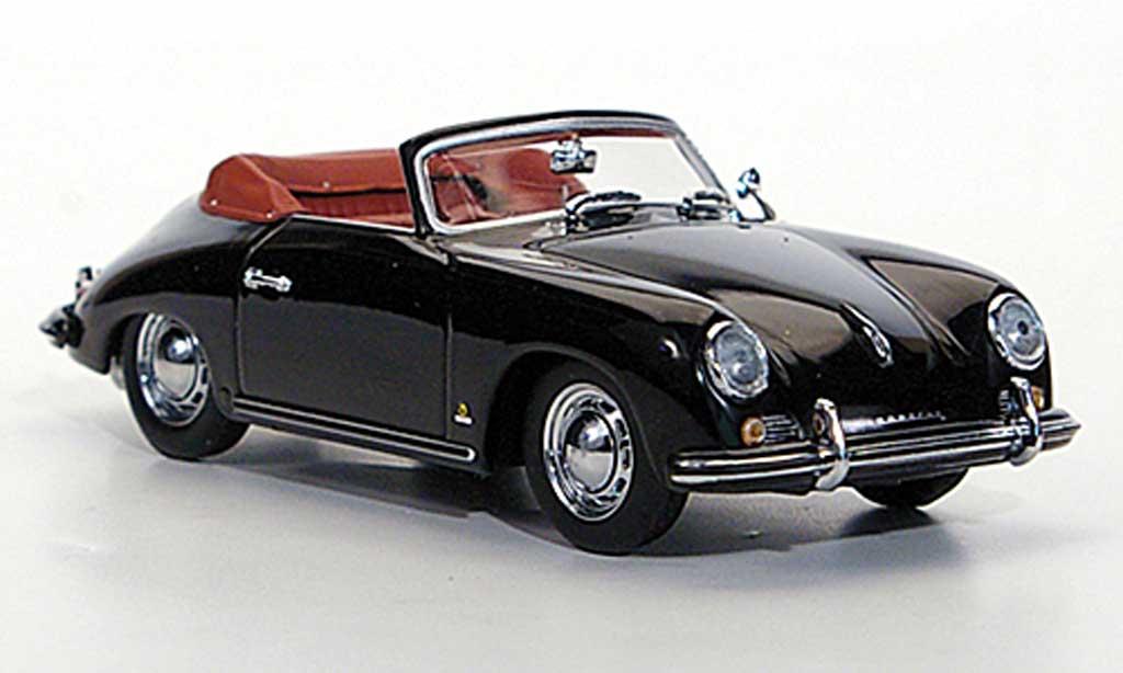 Porsche 356 1954 1/43 Minichamps Cabriolet noire miniature
