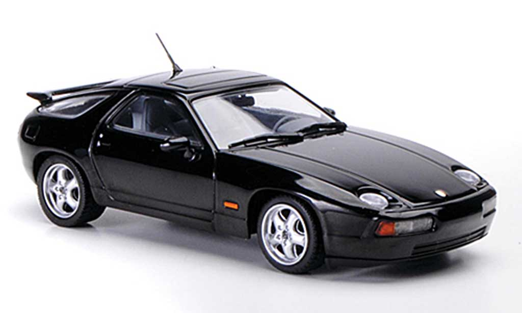 Porsche 928 1991 1/43 Minichamps GTS black diecast model cars