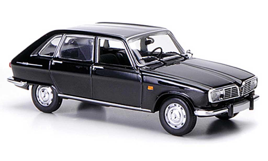 Renault 16 1/43 Minichamps noire 1965 miniature