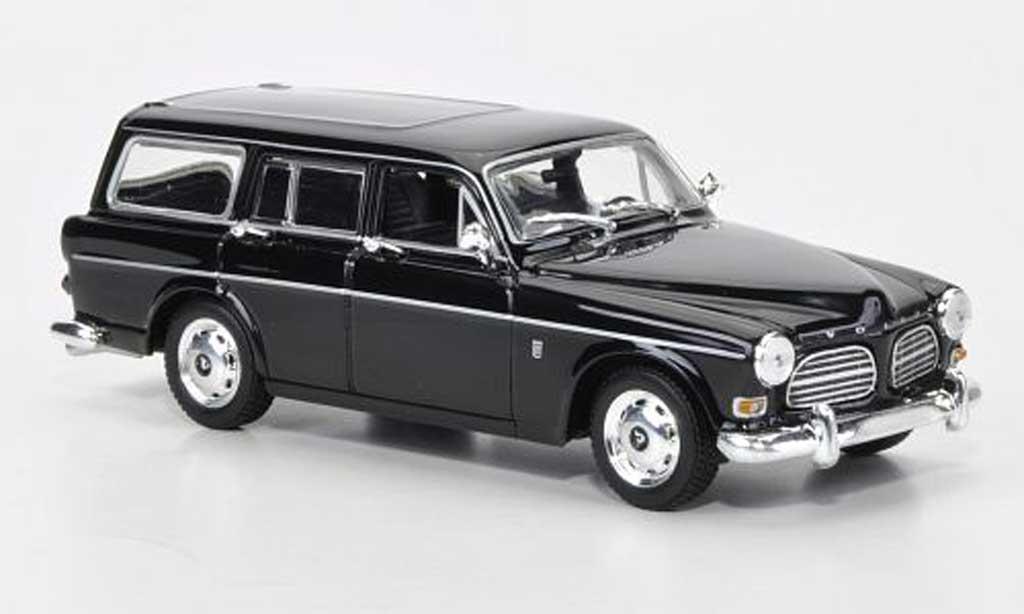 Volvo 121 1/43 Minichamps Amazon Kombi noire 1966 miniature
