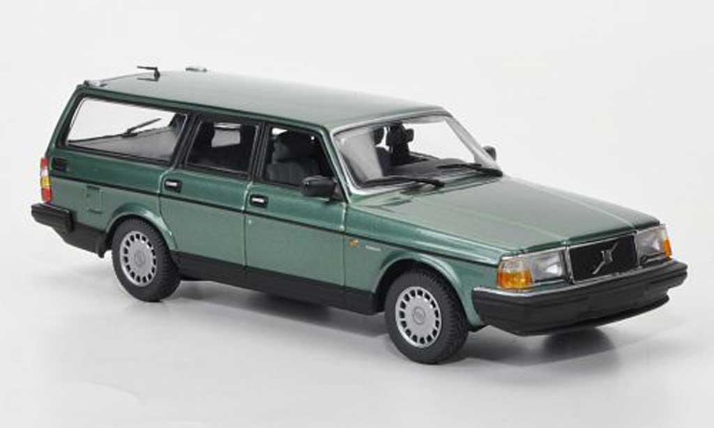 Volvo 240 GL 1/43 Minichamps Kombi green 1986 diecast