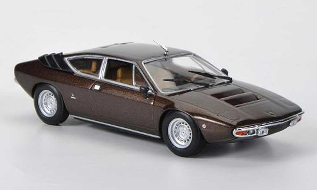 Lamborghini Urraco 1/43 Minichamps marron 1972 diecast
