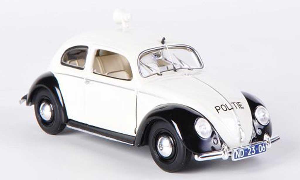 Volkswagen Kafer 1/43 Minichamps 1200 Export Politie Polizei (NL) 1951 diecast