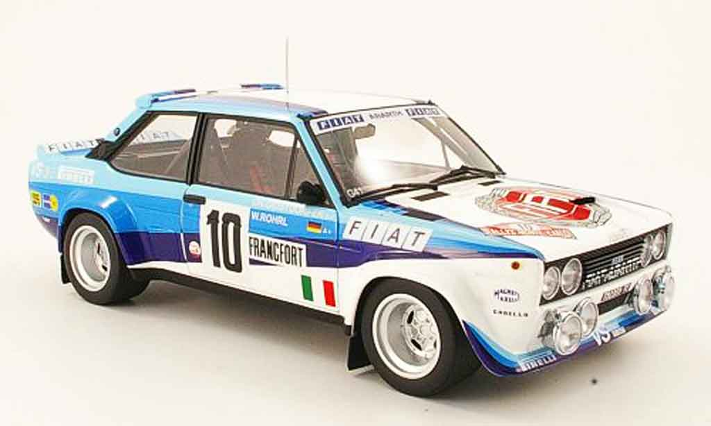 Fiat 131 Abarth 1/18 Kyosho no.10 sieger rallye monte carlo 1980 diecast model cars