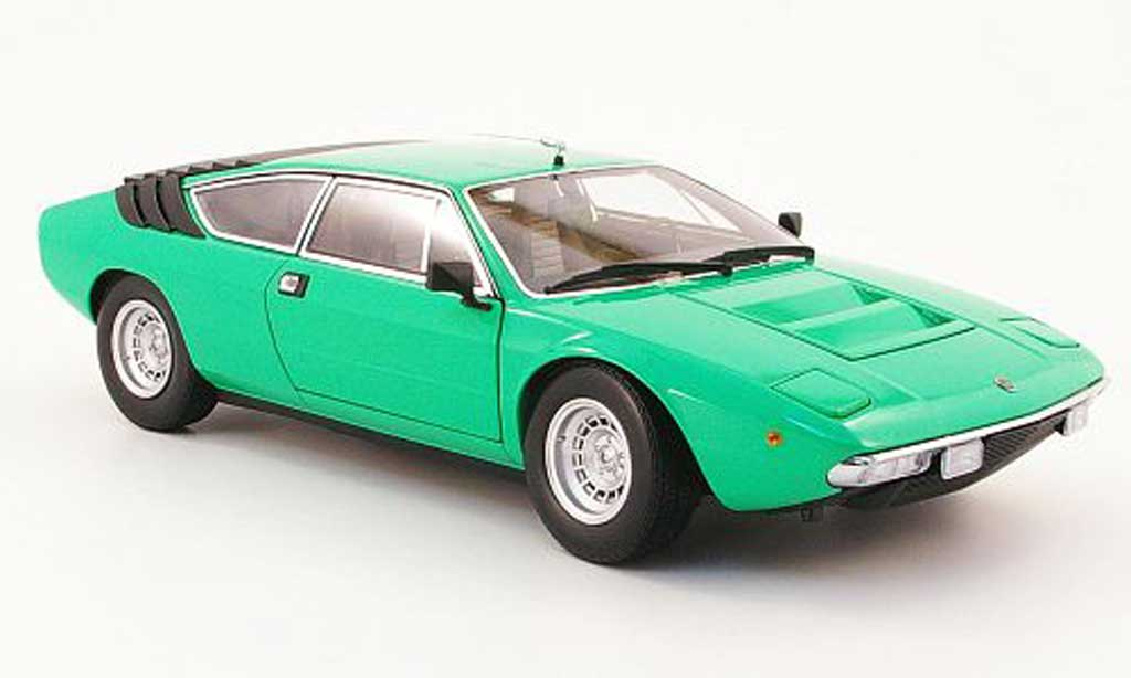 Lamborghini Urraco 1/18 Kyosho p250 green diecast