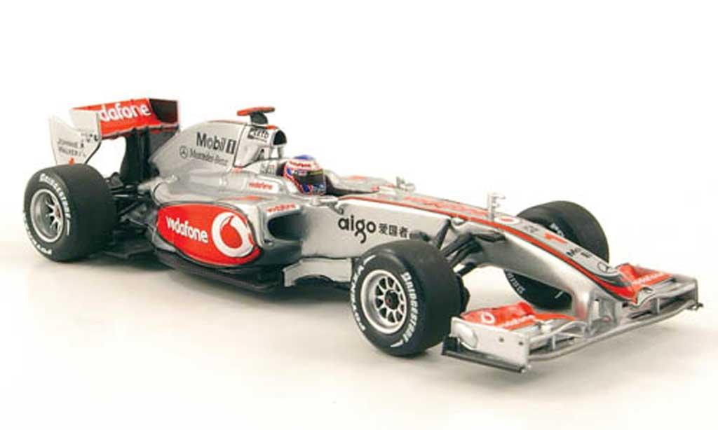 Mercedes F1 2010 1/43 Minichamps McLaren No.1 Vodafone J.Button Showcar diecast