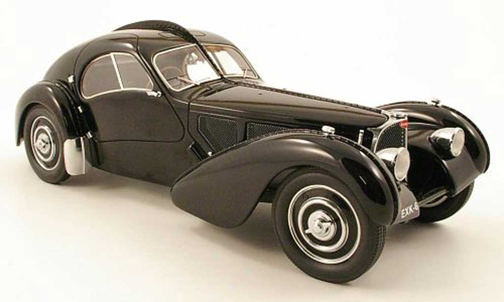 Bugatti 57 SC 1/18 Neo atlantic noir 1938 diecast model cars