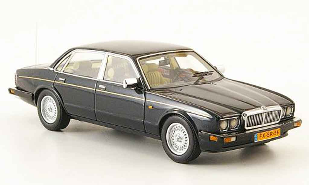 Jaguar XJ 40 1/43 Neo sovereign  verte 1990 miniature
