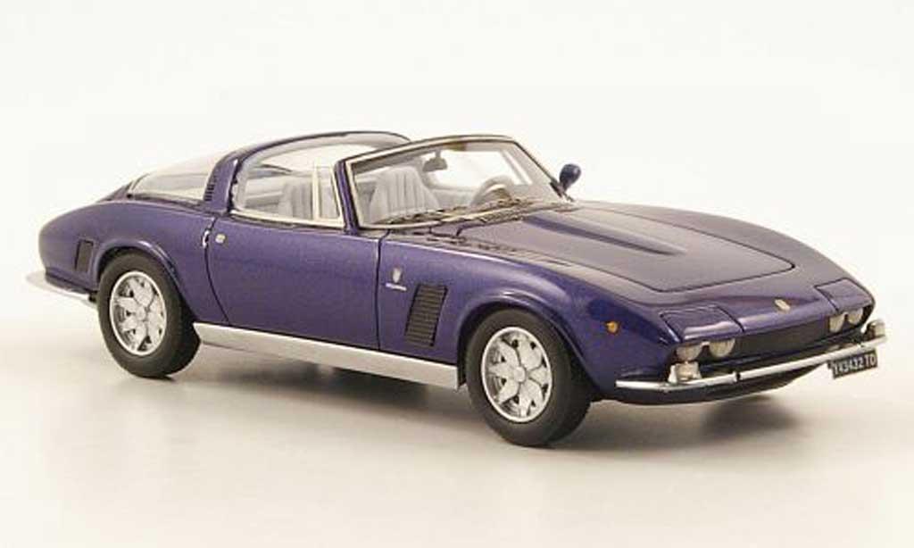 ISO Grifo 1/43 Neo Mk2 Targa bleu 1972 miniature