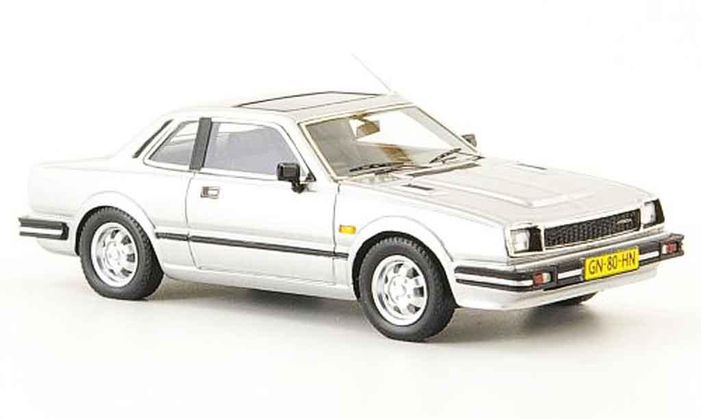 Honda Prelude 1/43 Neo MK I grise metallisee 1981 miniature