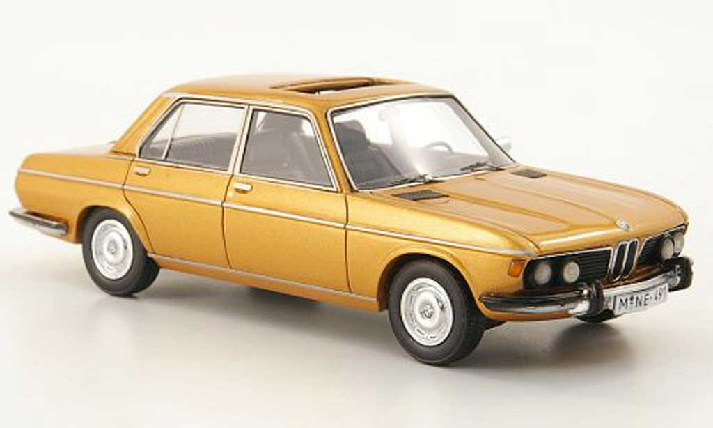 Bmw 2800 E3 1/43 Neo gold 1969 miniature