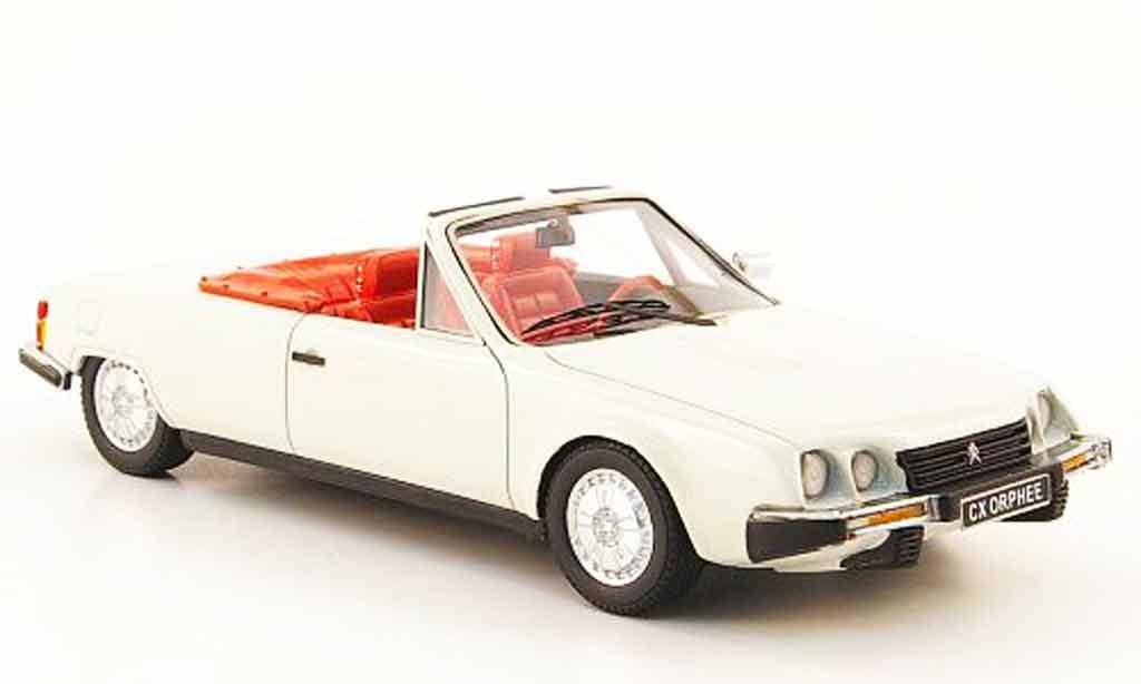 Citroen CX 1/43 Neo orphee cabriolet white 1983 diecast model cars