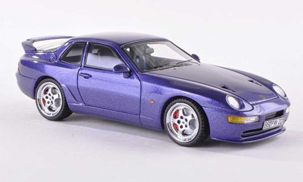 Porsche 993 Turbo 1/43 Neo 968 RS lila 1 miniature