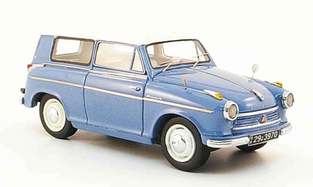 Lloyd Alexander 1/43 Neo Kombi bleu blanche 1958 miniature