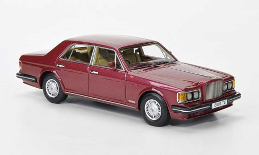 Bentley Turbo R 1/43 Neo rouge RHD 1985 miniature