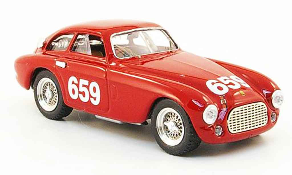 Ferrari 166 1950 1/43 Art Model coupe no.659 mille miglia miniature