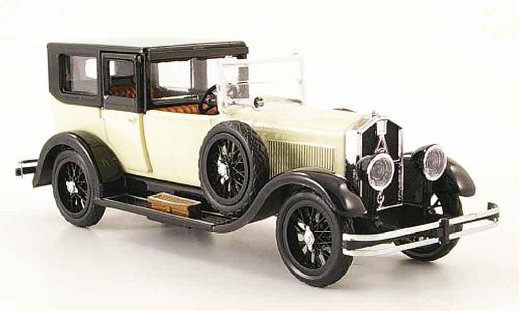 Isotta 8A 1/43 Rio Fraschini Limousine blanche noire offen 1924 miniature