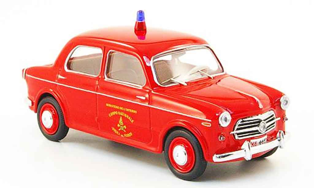 Fiat 1100 1956 1/43 Rio TV Vigili del Fuoco pompier diecast
