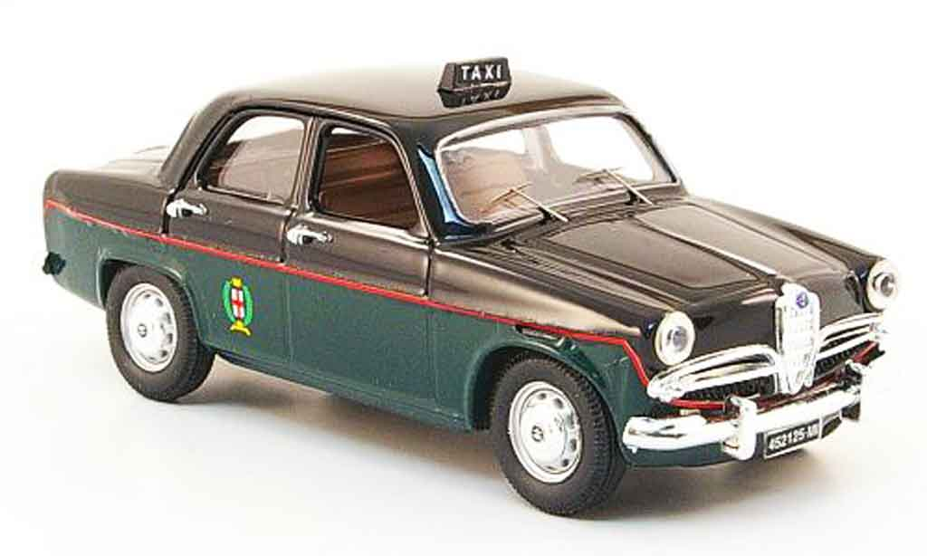 Alfa Romeo Giulietta 1/43 Rio taxi mailand 1959 miniature