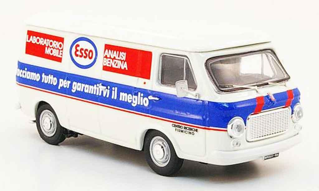 Fiat 238 1/43 Rio Kasten Esso Laboratorio Mobile 1974 diecast
