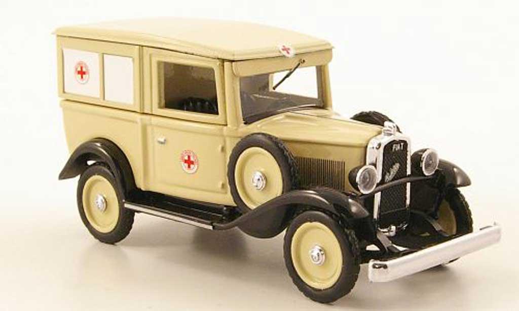 Fiat 508 1/43 Rio Balilla Ambulanza Croce Rossa Italiana RTW 1935 miniature