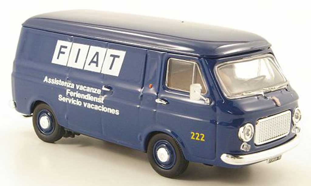 Fiat 238 1/43 Rio Kasten Feriendienst 1970 diecast