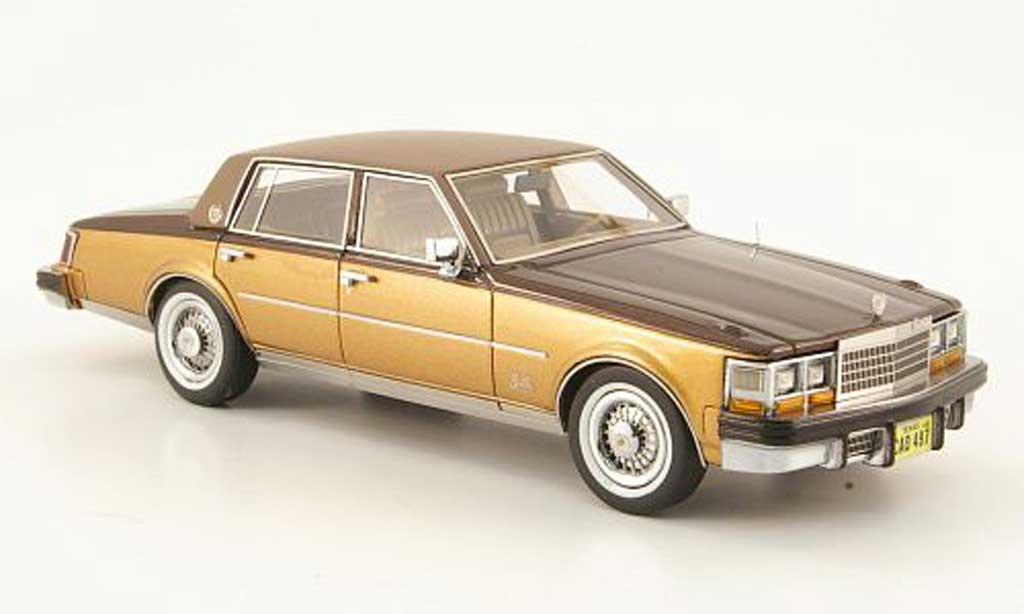 Cadillac Seville 1978 1/43 Neo Mk I Elegante marron/gold
