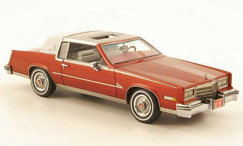Cadillac Eldorado 1/43 Neo Biarritz rouge/blanche/d 1979 miniature