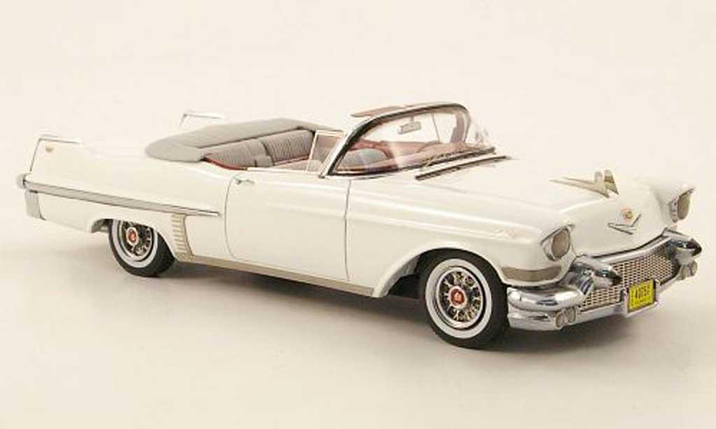 Cadillac Series 62 1957 1/43 Neo 1957 Convertible blanche