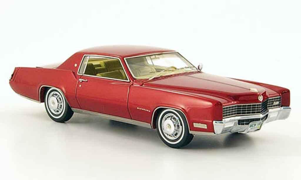 Cadillac Eldorado 1/43 Neo Coupe rouge edition liavecee 500 1967 miniature