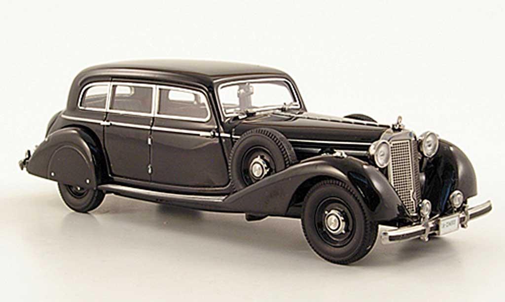 Mercedes 770 1/43 Signature Pullman-Limousine noire 1938 miniature