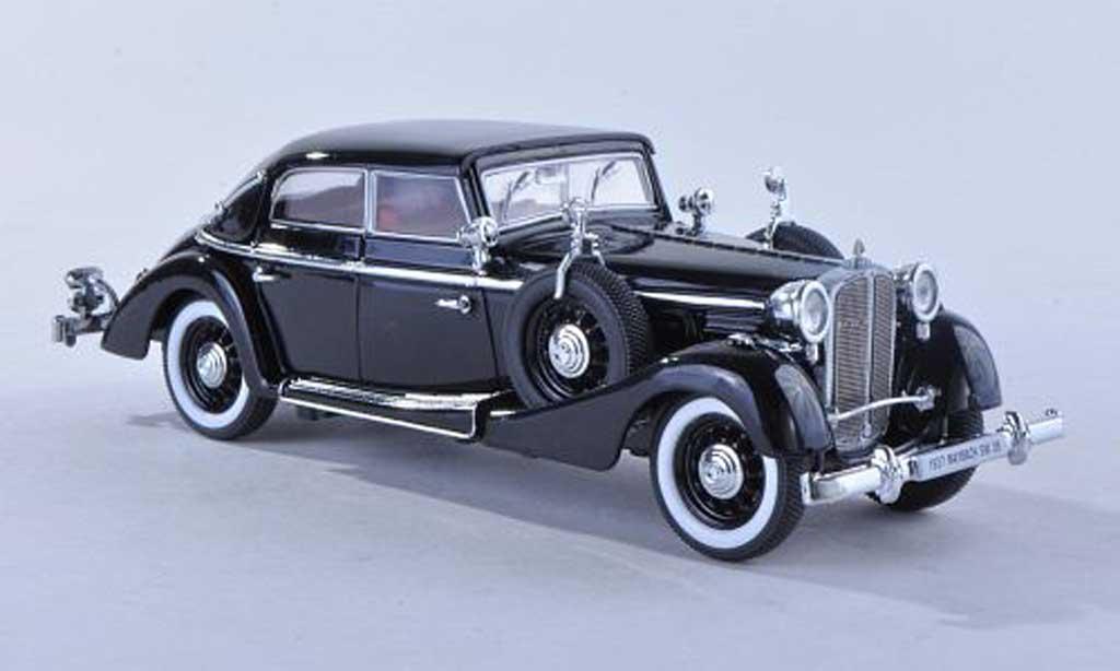 Maybach SW 1/43 Signature 38 cabriolet Spohn noire 4-portes 1937 miniature
