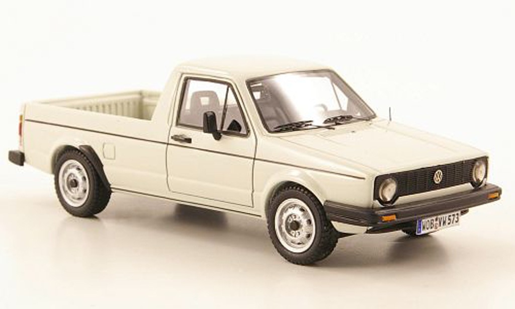 Volkswagen Caddy 1/43 Neo MKI white 1981 diecast model cars