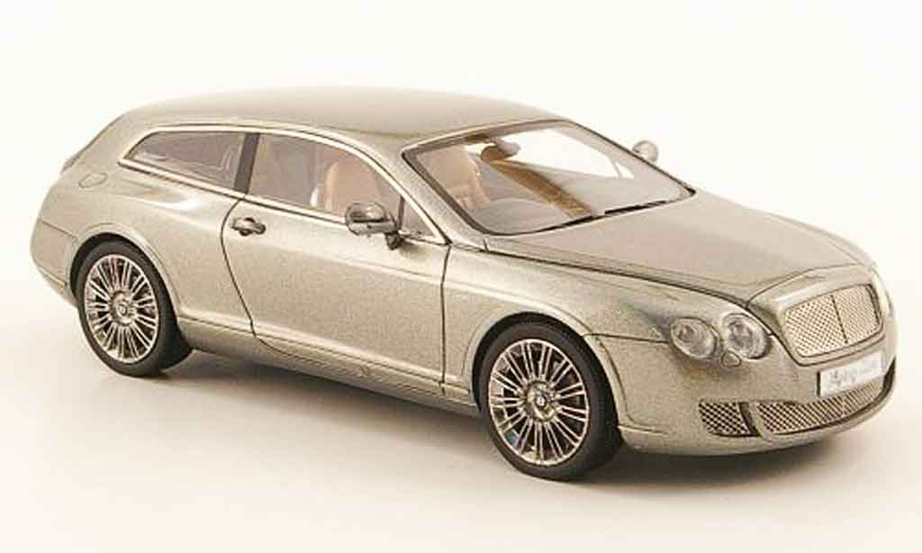 Bentley Continental Flying 1/43 Neo Star by Touring grigia 2010 miniatura